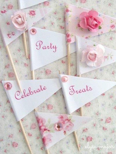 How to make decorative tablewear. Tinkered Toothpicks - Step 4