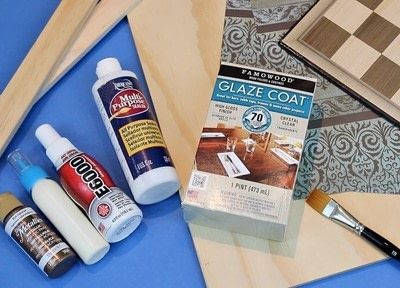 How to make a table. Super High Gloss Resin Game Table  - Step 2
