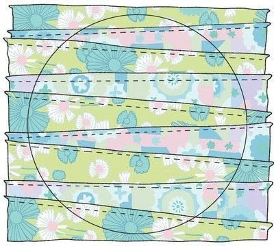 How to make a placemat. Al Fresco Placemat - Step 9