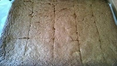 How to bake a brownie. Blondies - Step 5