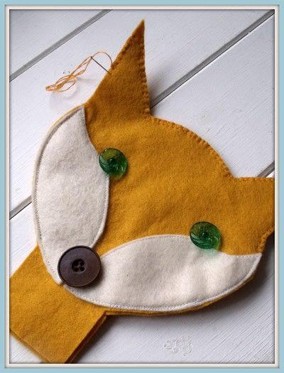 How to make a fox plushie. Sweet Little Fox Doll - Step 6