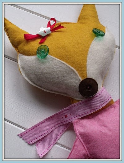 How to make a fox plushie. Sweet Little Fox Doll - Step 7