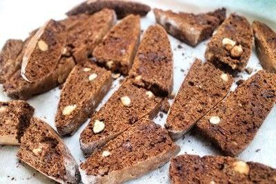 How to bake biscotti. Chocolate Orange & Hazelnut Biscotti - Step 9