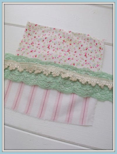 How to make a scent pouches. Sweet Lavender Pillow - Step 3