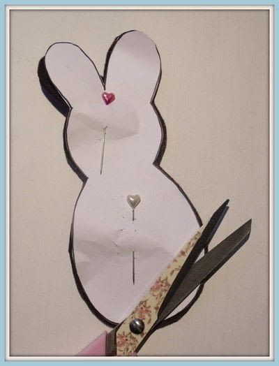 How to make rabbit plushie. Basket Of Huggable Bunnies - Step 1