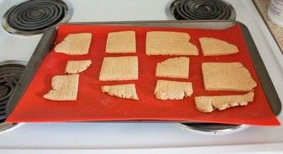 How to bake a cookie. Homemade Gharam Crackers  - Step 3