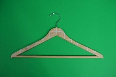 How to make a clothes hanger. Painted Wooden Hangers - Step 3