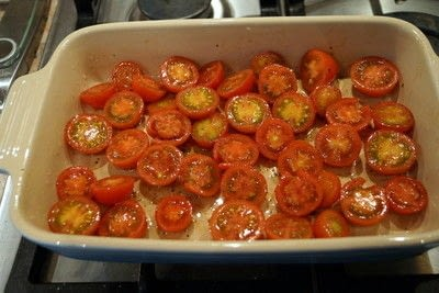 How to make a cheese. Halloumi with cherry tomato sauce  - Step 1