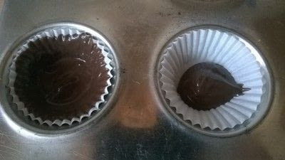 How to make a chocolate cup. Chocolate Cups - Step 2