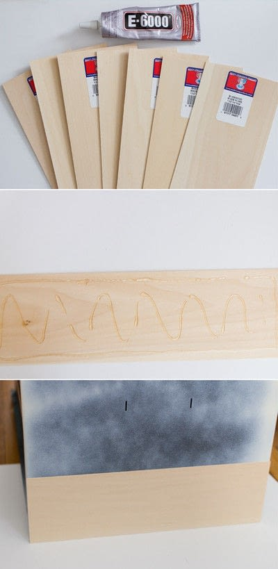 How to make a bookcase / cubby. White & Wood Filing Cabinet Makeover - Step 1