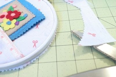 How to make a sewing kits. Embroidery Hoop Sewing Kit - Step 10
