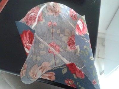 How to make a stool. Stool Makeover - Step 13
