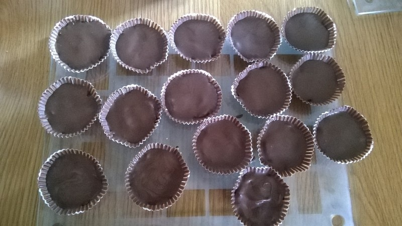 how to make peanut butter cups
