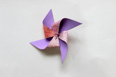 How to make a pinwheel. How To Make A Pinwheel! - Step 4