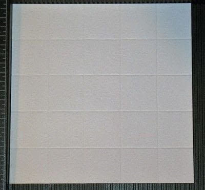 How to make a papercraft. Creating A Faux Tile Background For Cards - Step 4
