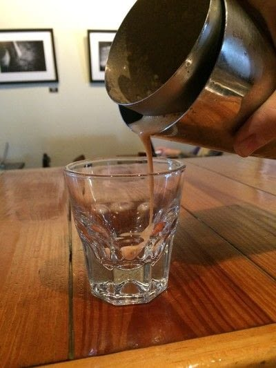 How to make an iced coffee. The Fredericks - Step 6