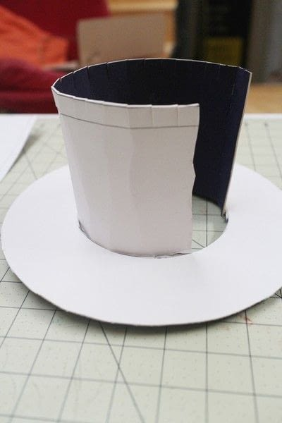 How to make a top hat. Teapot Top Hat - Step 8