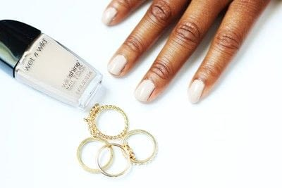 How to paint a French tip. Pastel French Tips Nail Tutorial - Step 1