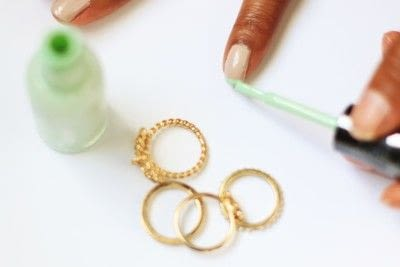How to paint a French tip. Pastel French Tips Nail Tutorial - Step 3