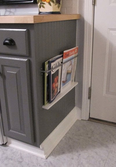 How to make a storage unit. Kitchen Magazine Rack Diy - Step 3