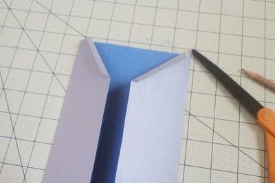How to make  an embellished card. Superhero Boyfriend Card - Step 4
