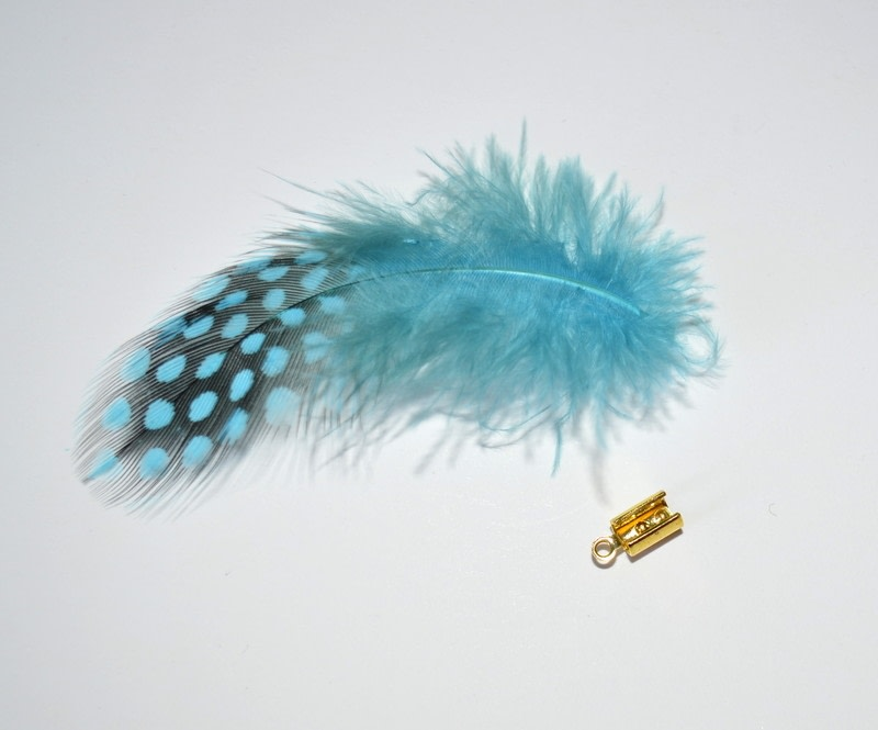 Feather Hair Tie 183 How To Make A Feather Hair Clip