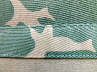 How to make a stitched cushion. Free As A Bird - Step 3