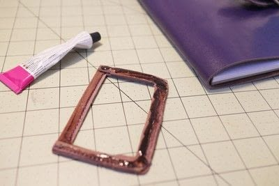How to make a leather journal. Satchel Notebook - Step 11