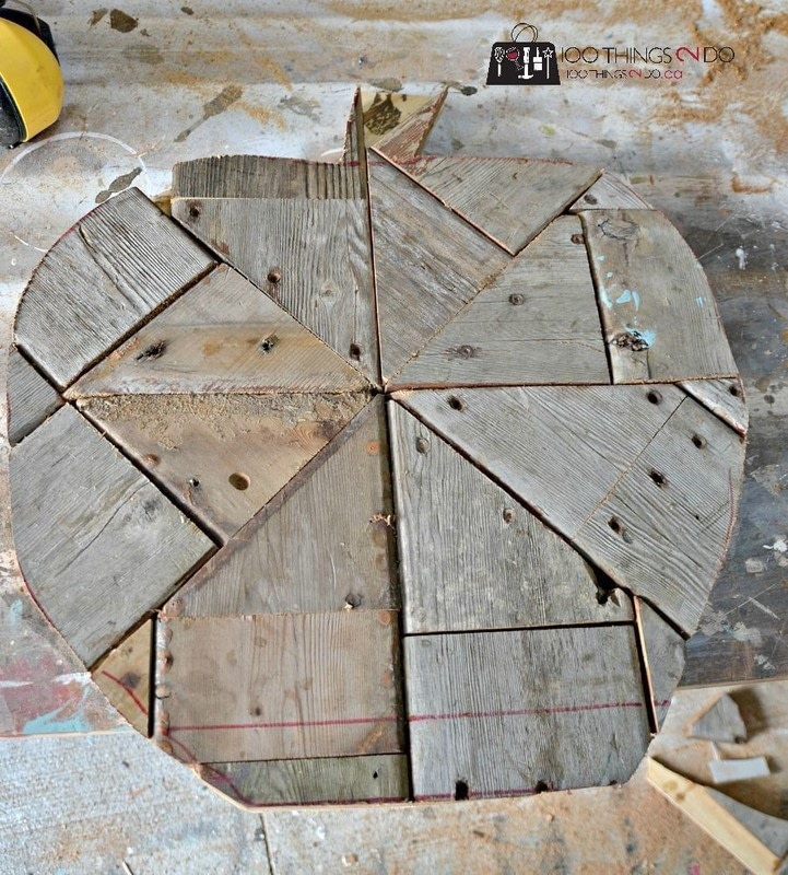 Diy Fall Decor Using Scrap Wood How To Make A Piece Of