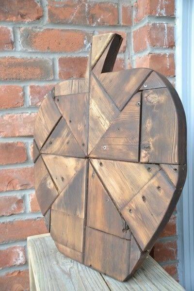 How to make a piece of seasonal decor. Diy Fall Decor   Using Scrap Wood - Step 5