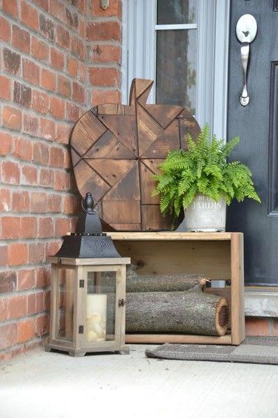 How to make a piece of seasonal decor. Diy Fall Decor   Using Scrap Wood - Step 7