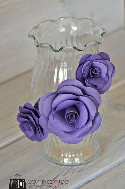 How to make a paper planter. Create A Decorative Flower Vase... With Paper! - Step 2