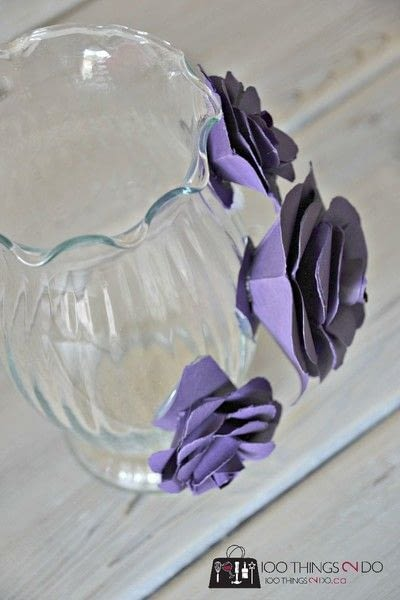 How to make a paper planter. Create A Decorative Flower Vase... With Paper! - Step 3