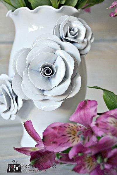 How to make a paper planter. Create A Decorative Flower Vase... With Paper! - Step 5
