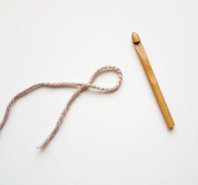 How to crochet a magic loop. Magic Loop - Step 1
