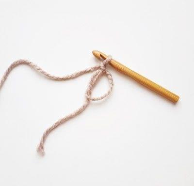 How to crochet a magic loop. Magic Loop - Step 3