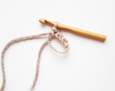 How to crochet a magic loop. Magic Loop - Step 4