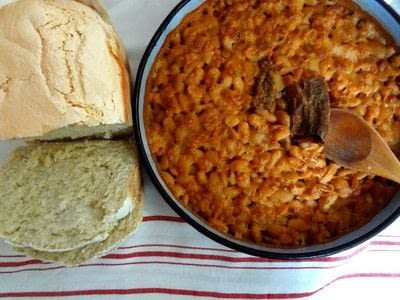 How to cook beans. Macedonian Baked Beans Or Tavce Gravce - Step 1