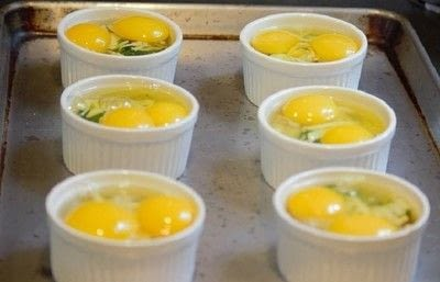How to cook a baked egg dish. Breakfast In A Bowl - Step 3