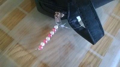 How to make an embellished pouch. Embellished Wash Bag - Step 9