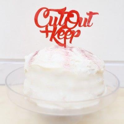 How to bake a red velvet cake. Red Velvet Cake - Step 10