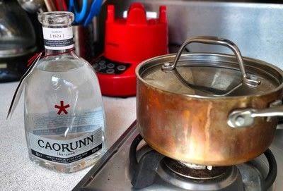 How to cook a crème brûlée. Lavender & Honey Creme Brulee - Step 2