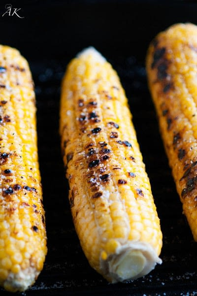 How to cook a taco. Grilled Yellow Corn And Black Bean Tacos - Step 1