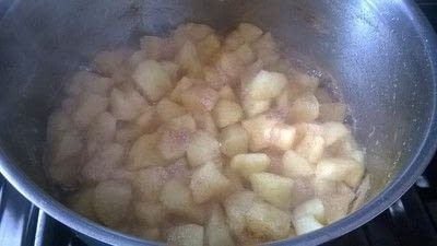 How to bake a crumble. Apple Crumble  - Step 3