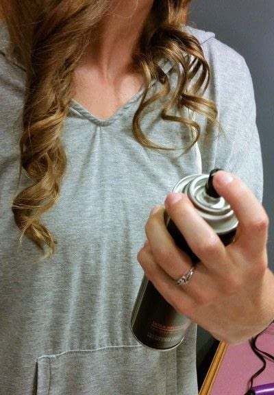 How to style a curly hairstyle / wavy hairstyle. 3 Day Curls - Step 4