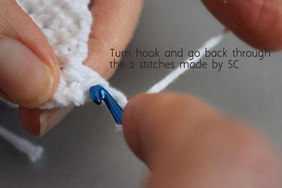 How to make a dish cloth or scrubber. Knot Another Washcloth! - Step 7