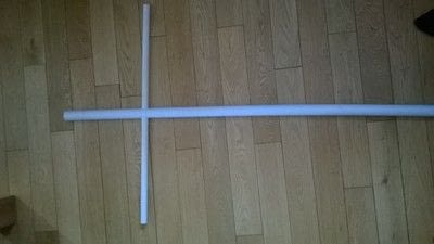 How to make a yardstake. Scarecrow  - Step 6