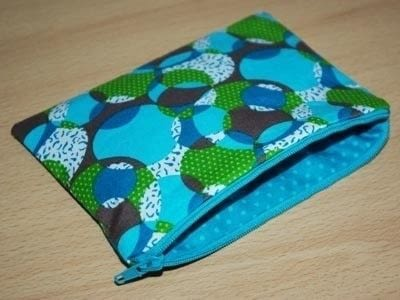 How to make a zipper pouch. Sewing A Zipped Purse - Step 5