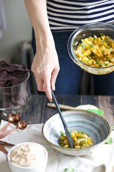 How to cook a bean dip. Sweet & Spicy White Bean Dip - Step 3