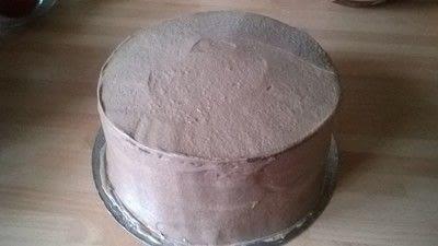 How to bake a chocolate cake. Malteser Cake - Step 12